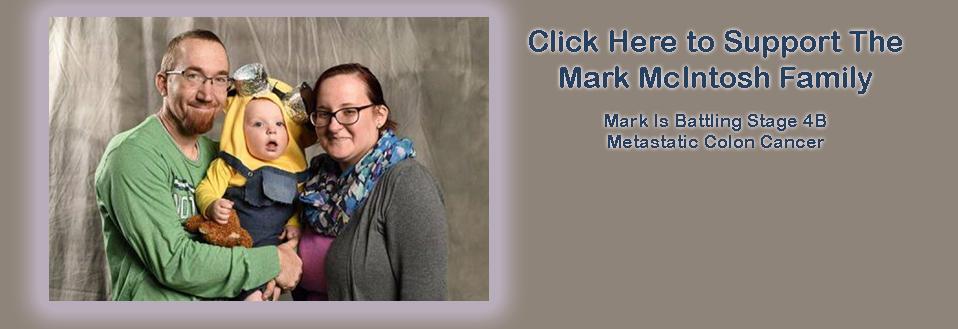 Mark McIntosh Battling Cancer