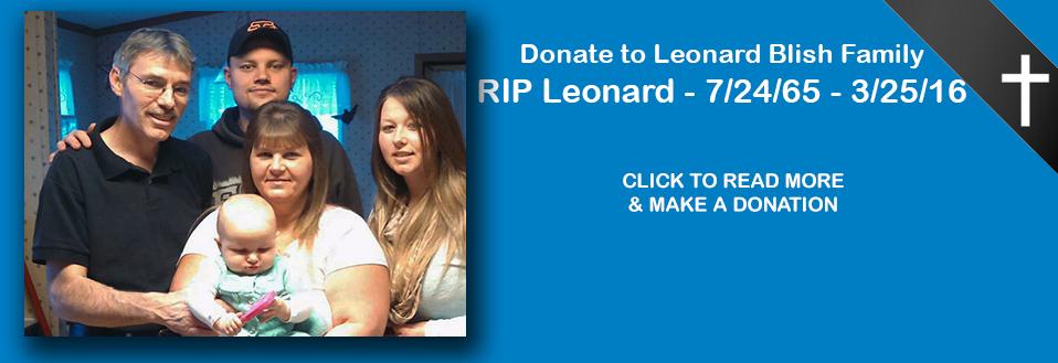 Support The Leonard Blish Family